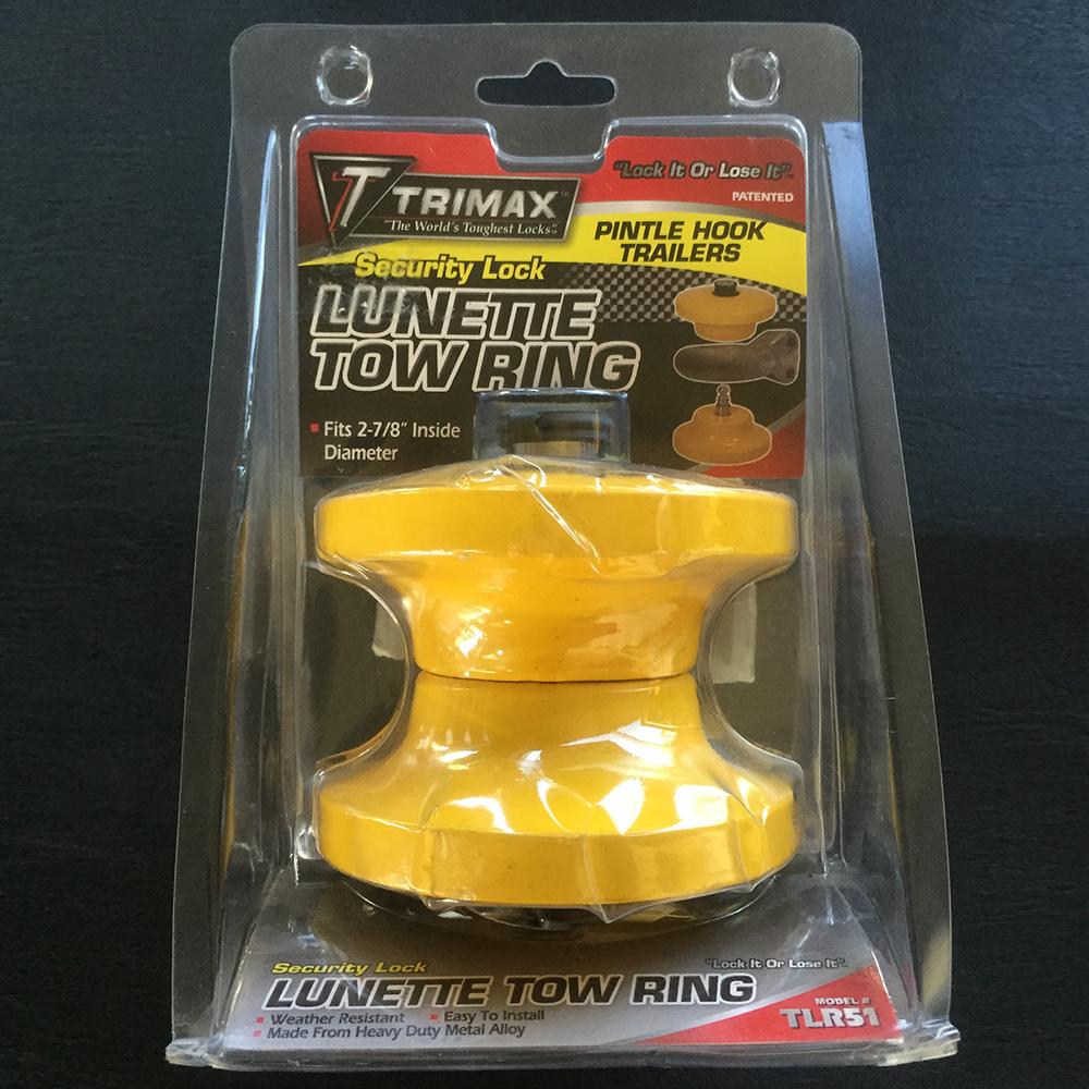 TLR51 Cadenas pour remorque avec anneau